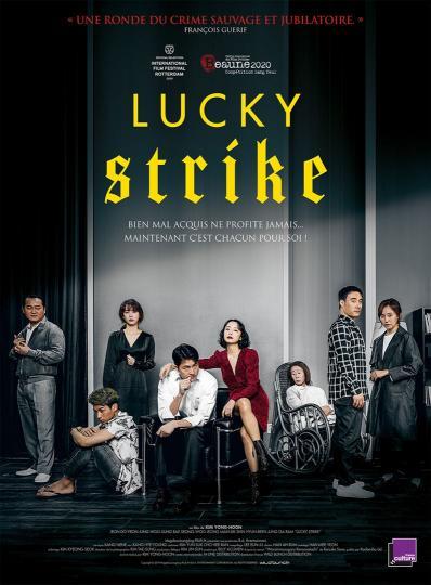 affiche Lucky Strike