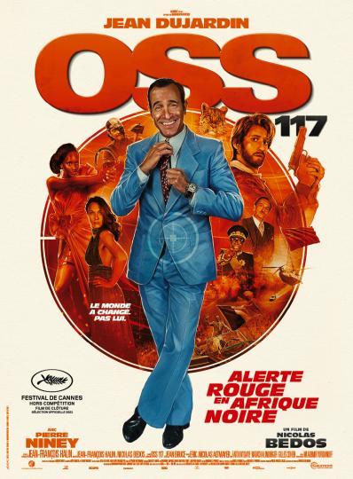 affiche OSS 117: Alerte rouge en Afrique noire
