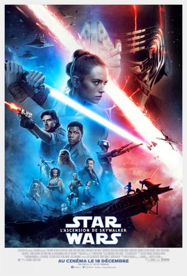 affiche Star Wars L'Ascension de Skywalker