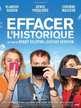 affiche du film Avant-première « Effacer l'historique »