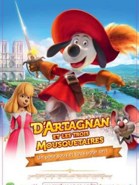 affiche du film D'Artagnan et les trois Mousquetaires