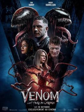 affiche du film Venom Let There Be Carnage